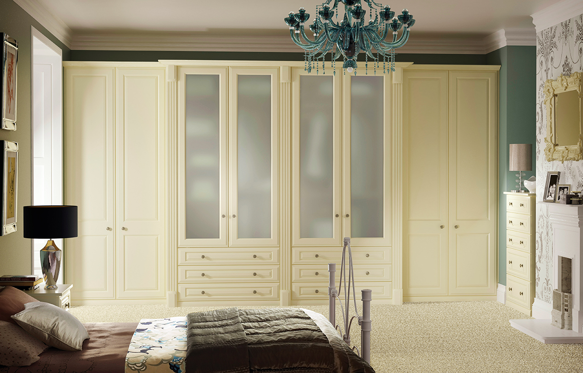 Fitted Bedrooms - Buckingham :: cream smooth