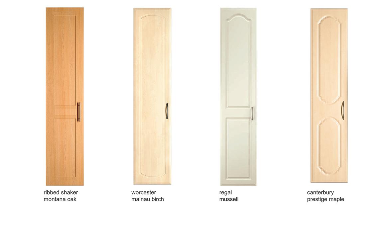 Bedroom Door Options - Choose any door style, in any colour