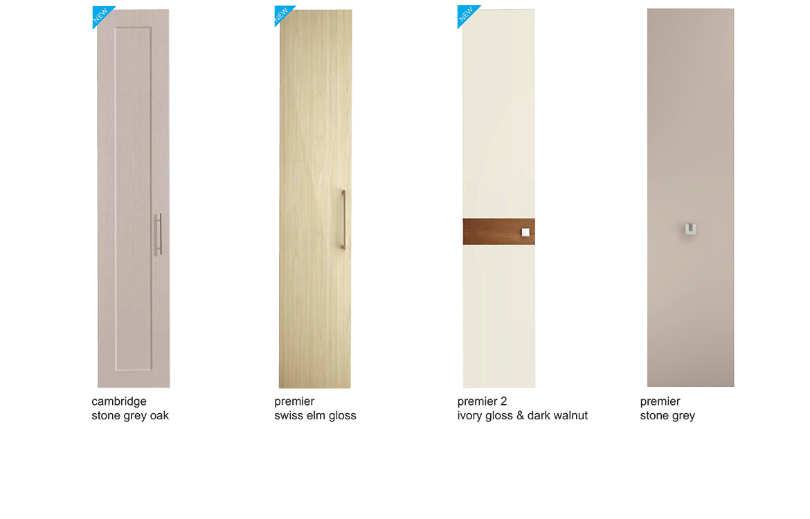 Bedroom Door Options - Choose any door style, in any colour