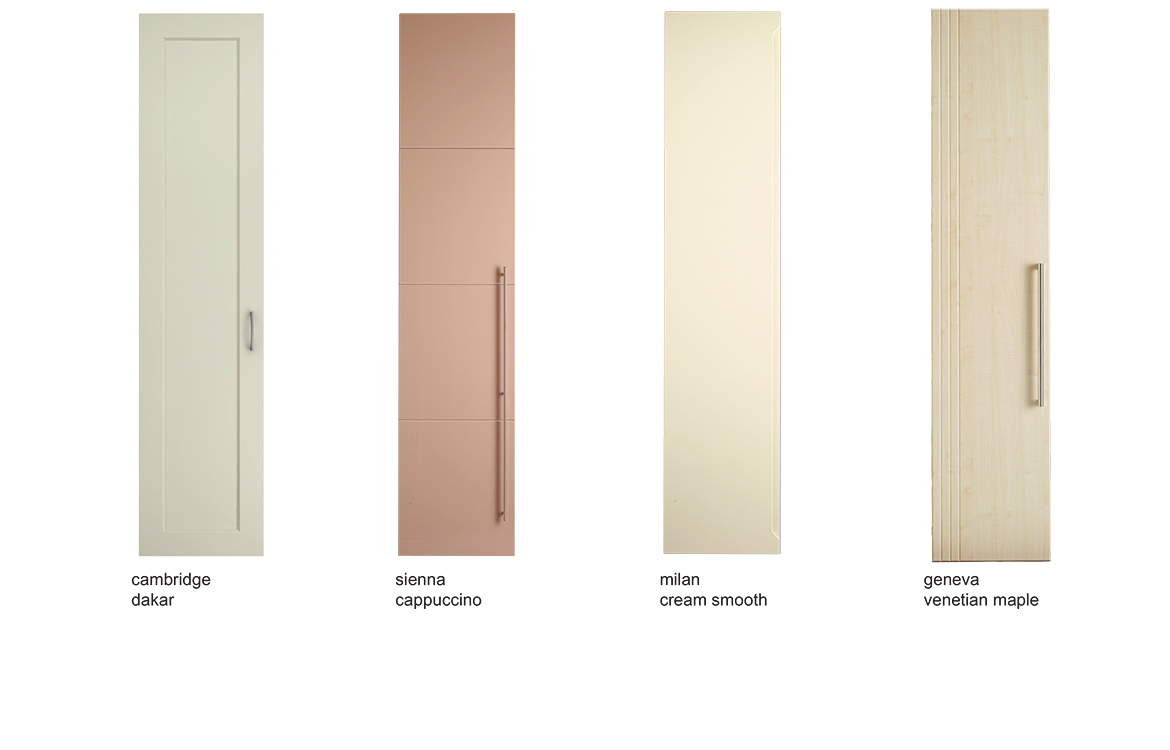 Bedroom Door Options - Choose any door style in any colour  sc 1 st  Harval fitted furniture & Inidual door styles | Harval - Harval