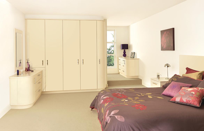 Fitted Bedrooms - Glacier :: Jasmine