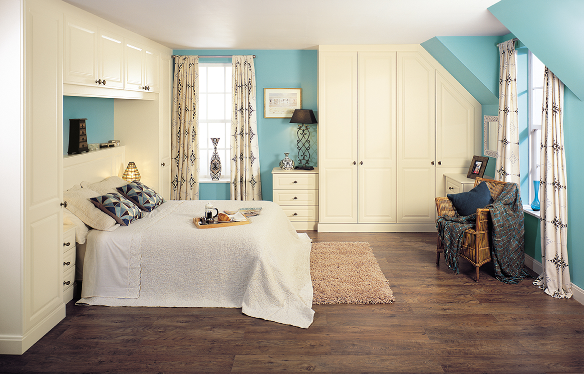 Fitted Bedrooms - Glendale - vanilla text