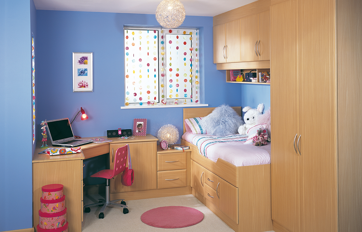 Fitted Bedrooms - Harmony :: Beech