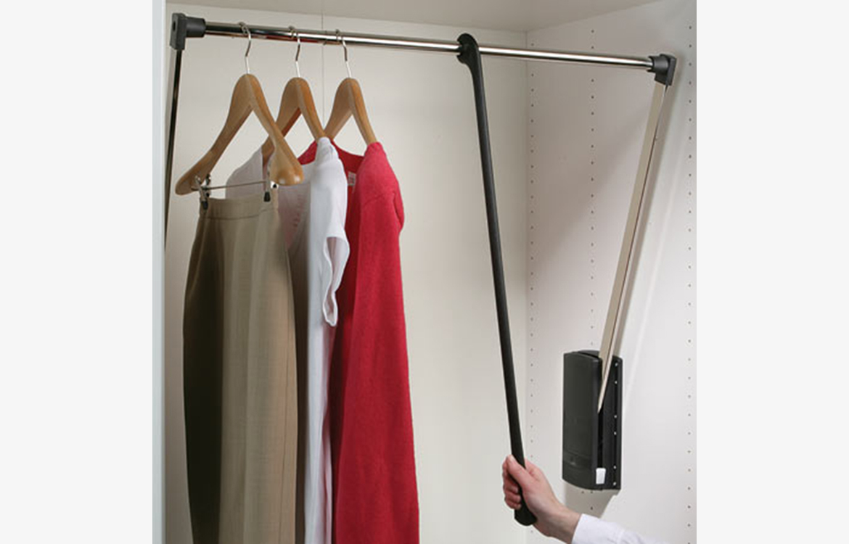 Storage :: Pull down wardrobe rai