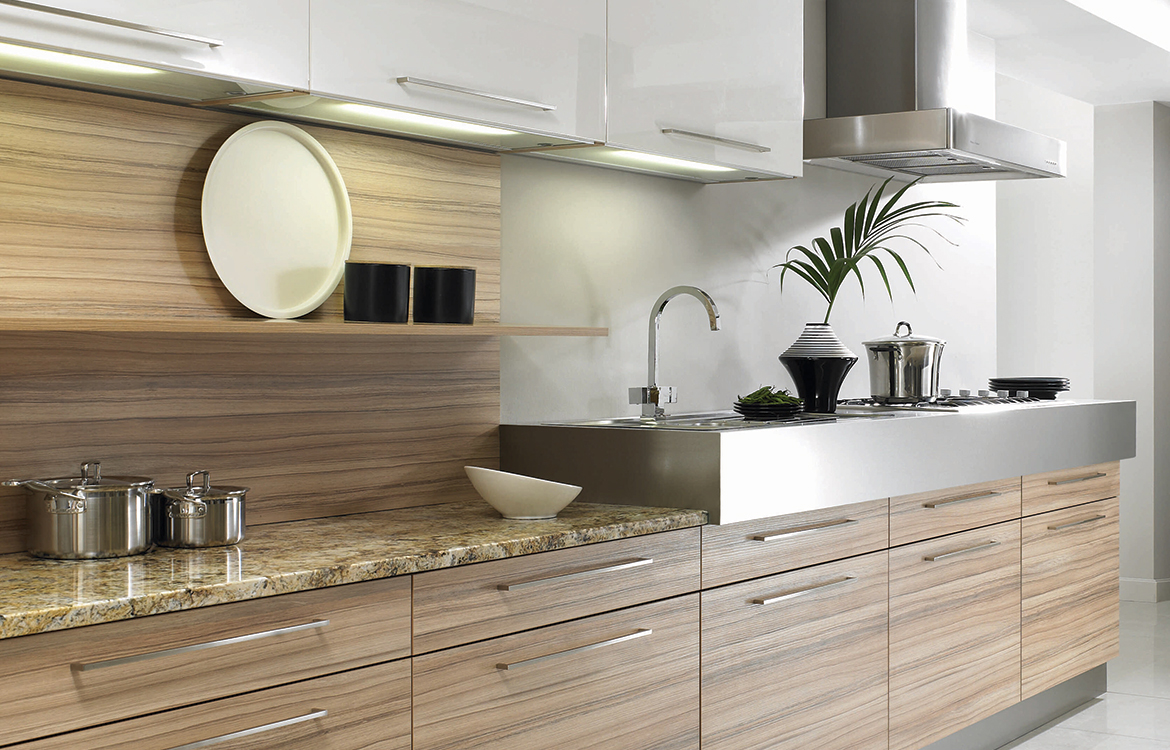 Lastra fitted kitchen :: coco bolo matt - detail