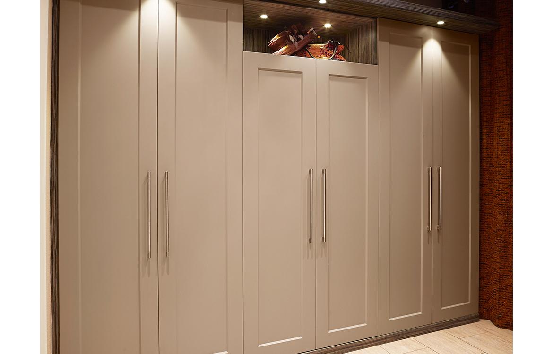 Cambridge - hinge wardrobe system :: stone grey