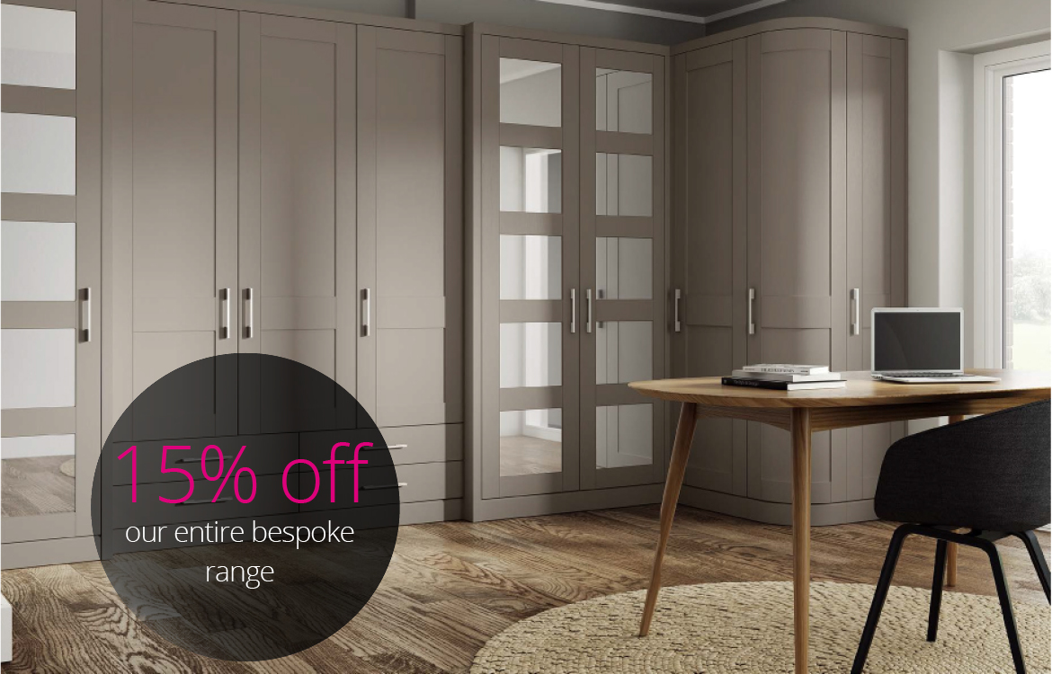 fitted home office - 15% off - Harval fitted furniture