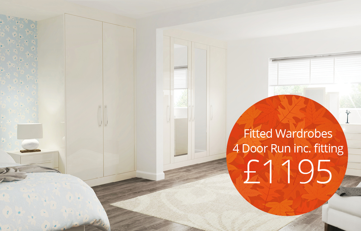 Fitted wardrobes offers