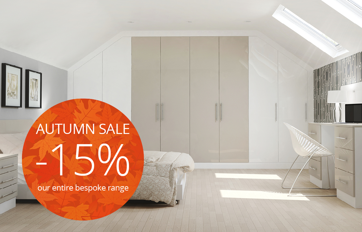 15% off fitted furniture