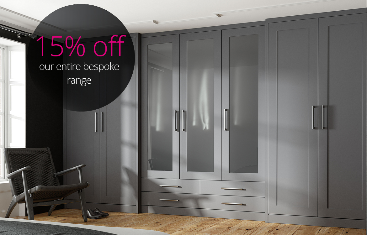fitted bedrooms - 15% off - Harval fitted furniture